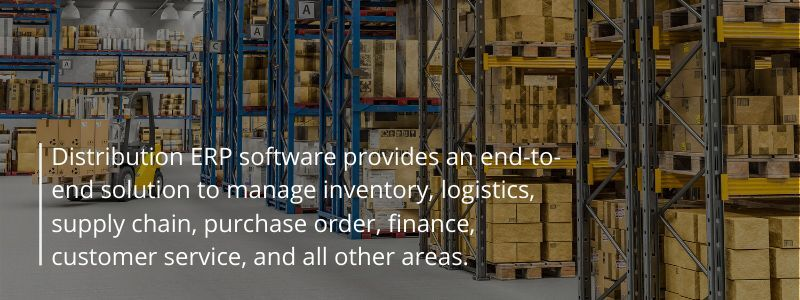 What is Distribution ERP Software and why do you need It