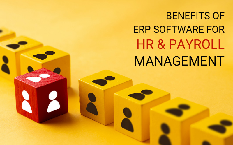 benefits of erp software for HR and Payroll
