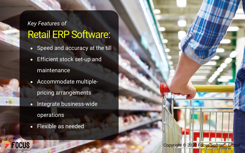 Feature of Retail ERP Software